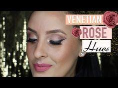 MAKEUP TUTORIAL: Venetian Rose Hues | Pink Orchid Makeup