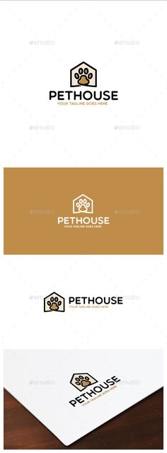 Pet House Logo — Vector EPS #home #care • Available here → https://graphicriver.net/item/pet-house-logo/15500519?ref=pxcr