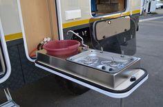 Iveco 4x4 Camper Outdoor Kitchen