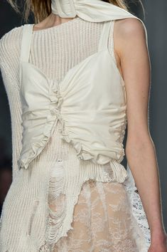 Rodarte at New York Fashion Week Fall 2016 - Details Runway Photos Fabrics and textures