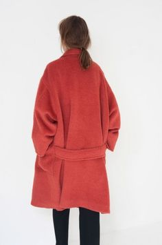 Isa Arfen coat, a whole lot of color