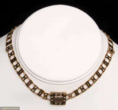 Mourning Necklace 1820 Augusta Auctions