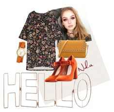 """""""Hello"""" by lindacorp on Polyvore featuring Too Faced Cosmetics, Graham & Brown, CHARLES & KEITH, Nasty Gal and Tory Burch"""