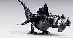 Why armored dragons? Aren't they tough enough?