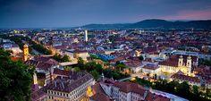 The historic old town of Graz © Graz Tourismus / Werner Krug