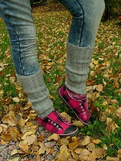 Pattern available only in Finnish Doc Martens, Leg Warmers, Ravelry, Legs, Knitting, Pattern, Shoes, Style, Diy