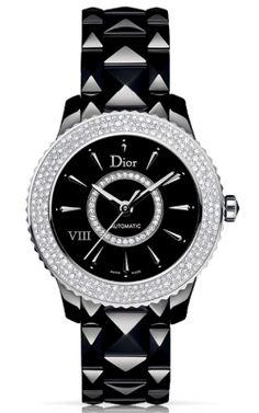 Christian Dior VIII Black Dial Ceramic Ladies Watch CD1245E2C001 Review Buy Now