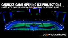 October 2014 Fans attending the Canucks first home game saw a spectacular ice projection show produced by Productions. Ice Show, Projection Mapping, Opening Night, Games, Youtube, Stage, Led, Gaming, Youtubers