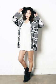 See-Thru Lace Pattern Dress