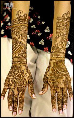 Pakistani Mehndi Designs: 40 Exquisite Designs To Make Heads Turn Pakistani Mehndi Designs, Mahndi Design, Mehndi Images, Henna Tattoos, Mehendi, Pattern Making, Fantasy, Detail, My Style