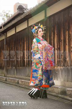 Japanese Geisha, Japanese Beauty, Japanese Kimono, Asian Beauty, Kabuki Costume, Art Costume, Costumes, Japanese Street Fashion, Asian Fashion