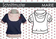 """Produkttitel: Schnittmuster/Anleitung Ebook Shirt """"Marie"""" 36-44 - Shopname: Schnipp-Schnapp Shop-Kategorie: Ebook/Schnitt Mode  Hier gibt es..."""