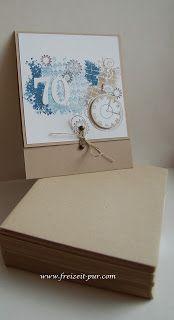 StampinUp! Clockworks  Stempel ... Freizeit ... pur: Einladung zum 70. Geburtstag - für einen Mann Stampinup, Paper Crafts, Diy Crafts, Masculine Cards, Handicraft, Cool Photos, Decorative Boxes, Scrapbook, Inspiration