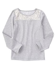 Lace Panel Tee at Crazy 8 (Crazy 8 4-14)