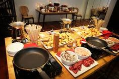 Have a FONDUE PARTY! I have been dying to do this!!