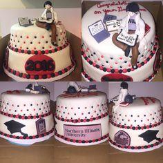 NIU Graduation Cake