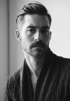 A slick hairdo with some scruff. We dig this gent's style. Looking to get groomed in a similar fashion? Our selection of Imperial Barber products to the resuce!
