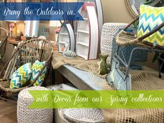 Spring Decor From Ellis Home And Garden