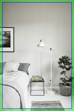 bedroom floor lighting ideas  #bedroom #floor #lighting #ideas Please Click Link To Find More Reference,,, ENJOY!! Grey Table Lamps, Table Lamps For Bedroom, Living Room Bedroom, Modern Bedroom, White Bedroom, White Lamps, Contemporary Bedroom, Dorm Room, Unique Floor Lamps