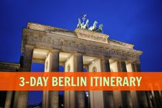 Our 3-Day Berlin Itinerary includes to all of the major sights and the best local fare in Berlin - and a link to a map for each day of sightseeing.