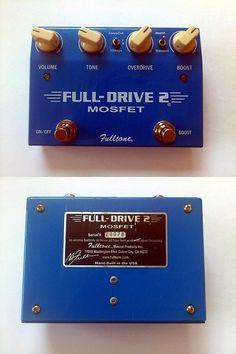 Fulltone Fulldrive 2 Mosfet Overdrive Pedal | 1.8jt