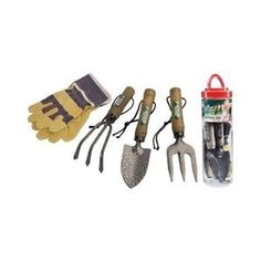 Young-Gardener-Kids-Learn-Soil-Real-Tool-Set-Fork-Trowel-Gloves-Cultivator