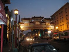 A quick metro ride east. Eat Chinese food, catch a movie, see the Wizards/Capitals, eat more Chinese food.