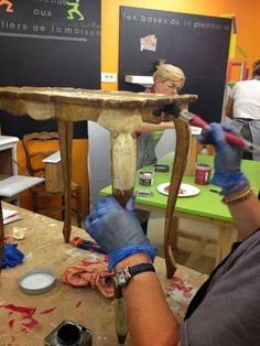 Cours de Bricolage.admt: rénovation meuble ancien : Avant Aprés