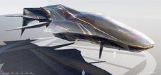 Farstar by ryanhdz on DeviantArt. Spacecraft design for Foundation's project.