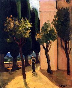 Street Scene by Andre Derain - circa 1920 André Derain, Henri Matisse, Kandinsky, Klimt, Pablo Picasso, Expressionist Artists, Georges Braque, Modigliani, French Artists