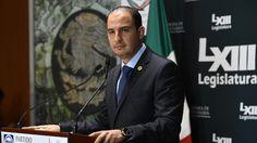 """El coordinador de la bancada panista en la Cámara de Diputados informó que el blanquiazul hizo preguntas parlamentarias sobre temas como la fuga de """"El Chapo"""" Guzmán y la impunidad ..."""