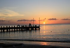Sunset at Occidental Grand, Cozumel