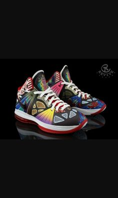 e438e9763b1 nike lebron 8 ps rammellzee 3 Nike LeBron 8 P. Rammellzee by Revive Customs