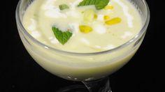 Receta | Crema fría de pepino con menta y yogur - canalcocina.es