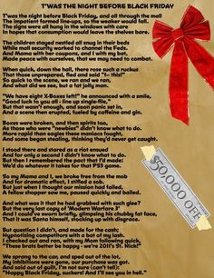 twas the night before christmas humor - Funny Twas The Night Before Christmas