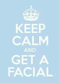 End your week with a relaxing facial at Bare! (spa facial)