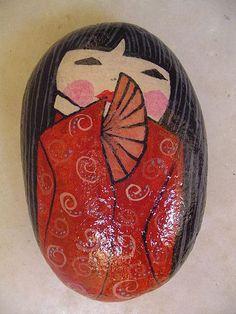 Geisha pebble