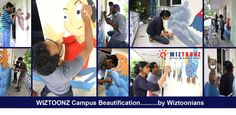 #Wiztoonz Campus Beautification - by Wiztoonianz..