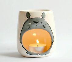 My Neighbor Totoro Oil Burner Candle Holder by ZenibasAttic