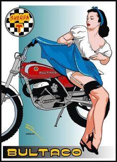 """Résultat de recherche d'images pour """"bultaco modèle 80 1971"""""""