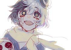 "Yumeno Kyusaku AKA: Q, whose frightful ability is called ""Dogra Magra."""