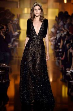 Elie Saab Couture A/W 15 | Harper's Bazaar