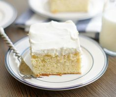 This Tres Leches Cake is definitely like a piece of dessert heaven! Not too sweet, and just a hint of cinnamon. It's ridiculously delicious.