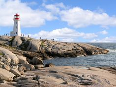 peggy's cove lighthouse - Nova Scotia Canada - According to legend, Peggy's Cove was named after the only survivor of a schooner that ran aground and sank in 1800
