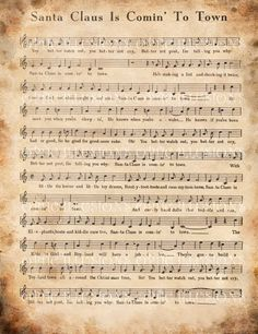 Vintage CHRISTMAS Carols Style A Set of 2 by opticillusions, $1.75 teampinterest