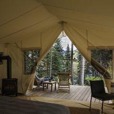 Wanderlust love. Cresto Ranch's Luxurious Tents, Colorado.