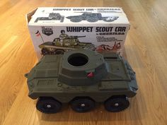 ACTION MAN VINTAGE WHIPPET SCOUT CAR - BOXED in Toys & Games, Action…