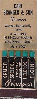 Granger Jewelers Cincinnati, OH  #frontstriker #feature #matchbook   To design…