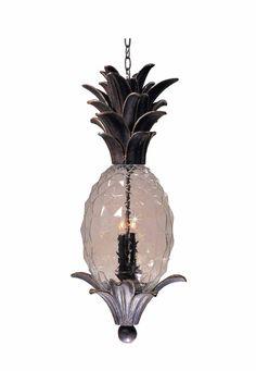 Superb Vintage Pineapple Pendant Lamp