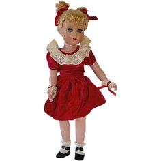 Arranbee 17 inch NANCY LEE Hard Plastic Doll ~ All Original